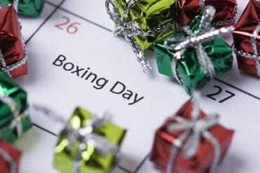Apostas no Boxing DAY