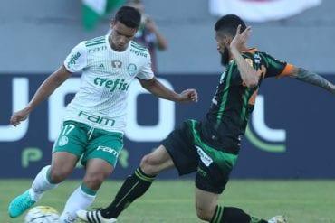 Palpite de aposta América-MG vs Palmeiras