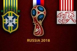 Palpite de aposta Brasil vs Suiça