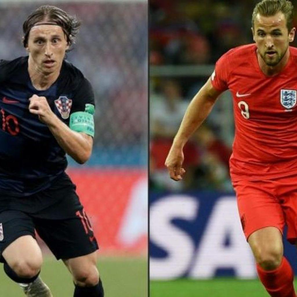 Prognóstico Croácia vs Inglaterra