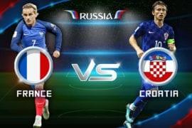 Prognóstico França vs Croácia