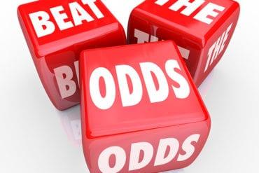 Odds nas casas de apostas