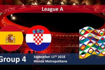 Prognóstico Espanha vs Croacia
