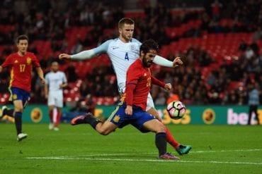 Prognóstico Inglaterra vs Espanha
