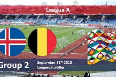 Prognóstico Islândia vs Bélgica