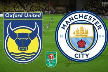Prognóstico Oxford United vs Manchester City