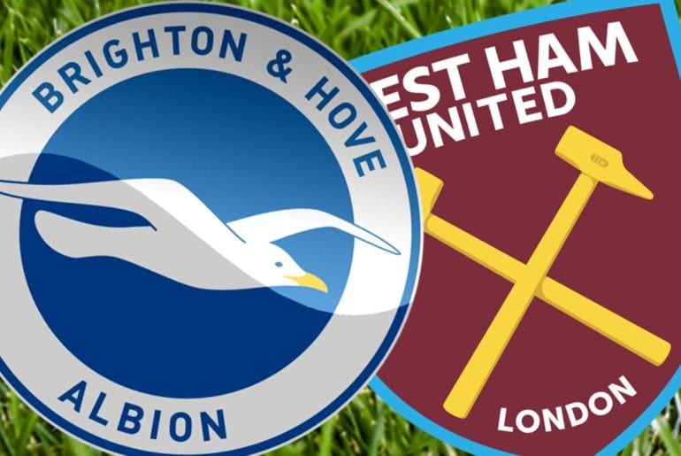 Palpite de aposta Brighton vs West Ham