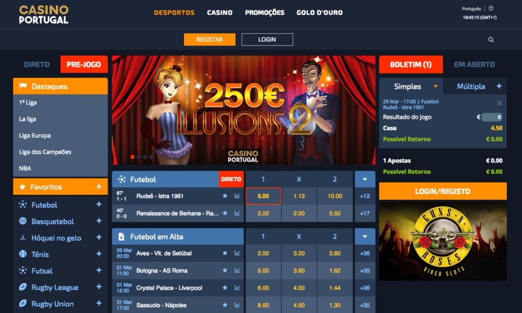 casino portugal apostas desportivas