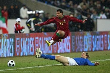 Itália vs Portugal