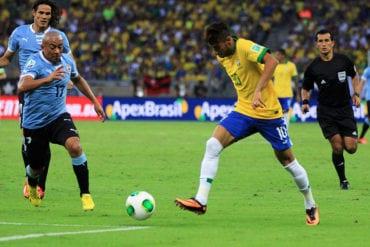 Uruguai vs Brasil