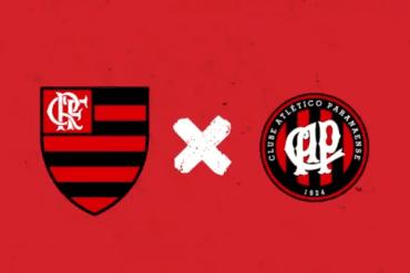 Flamengo x Atletico-PR