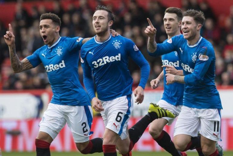 Rangers x Aberdeen