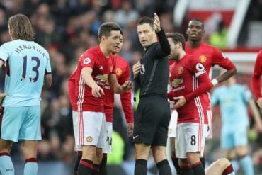 Manchester United x Burnley