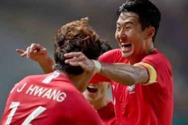 Quirguistão x Coreia do Sul