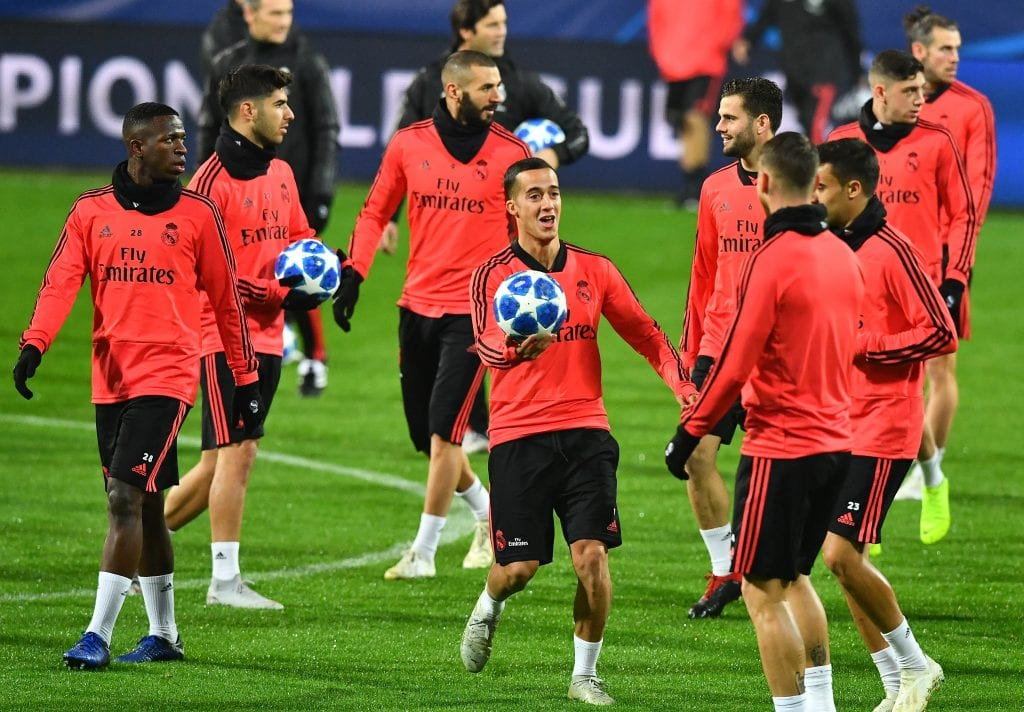 Ajax x Real Madrid