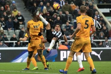 Wolves x Newcastle United