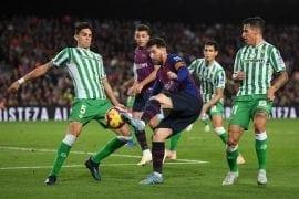 Bétis x Barcelona