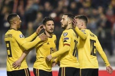 Chipre x Bélgica