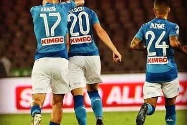 Nápoles x Udinese