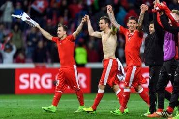 Suíça x Dinamarca