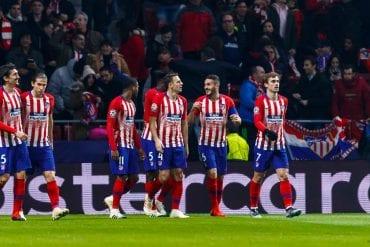 Atletico de Madrid x Valladolid