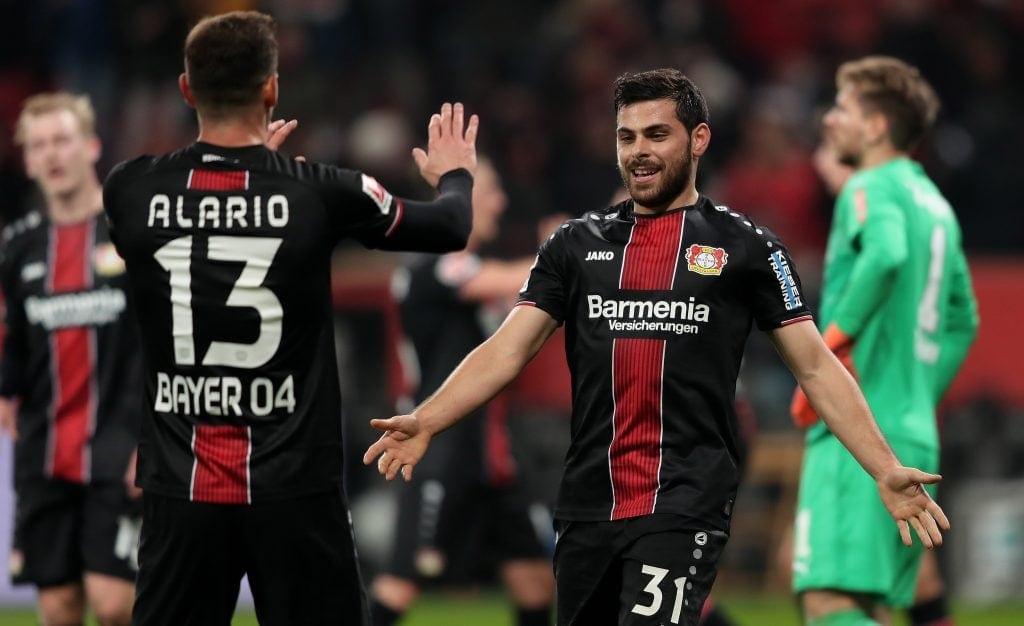 Augsburg x Bayer Leverkusen