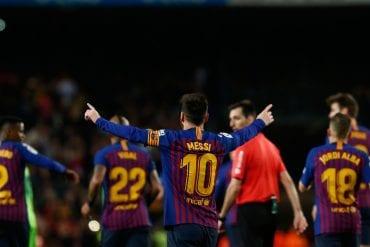 Barcelona x Liverpool