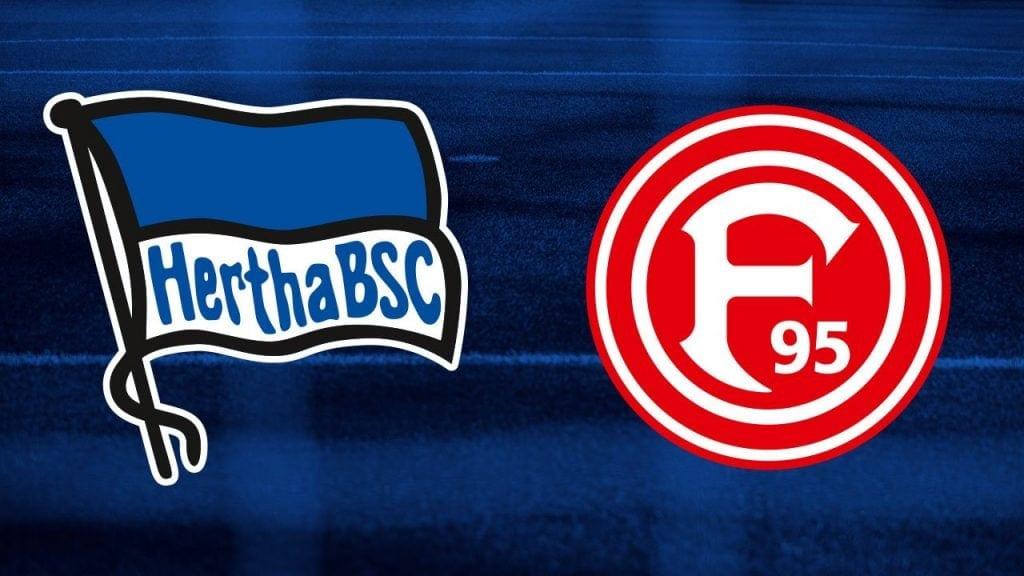 Hertha Berlin vs Fortuna Dusseldorf