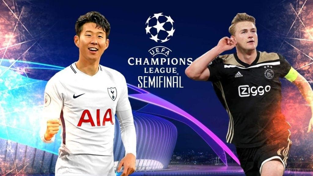 Tottenham x Ajax