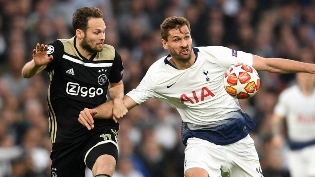 Ajax x Tottenham