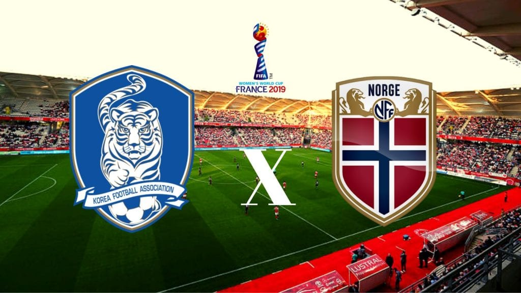 Coreia do Sul x Noruega