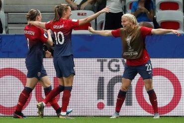 Noruega x Inglaterra