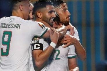 Argélia vs Guiné
