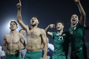 Argélia x Guiné