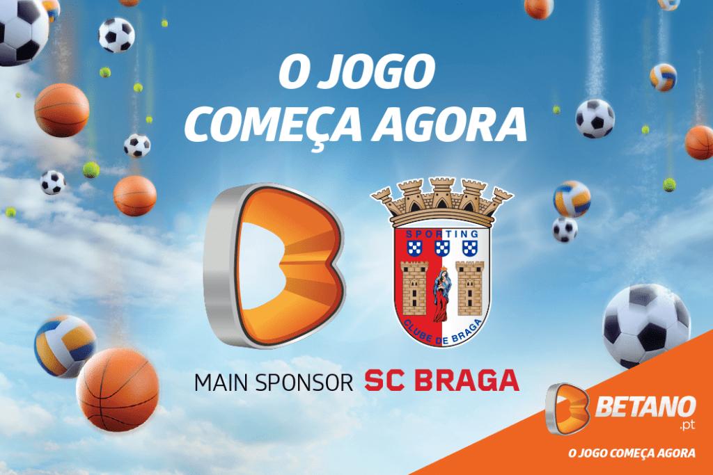 Betano Main Sponsor SC Braga