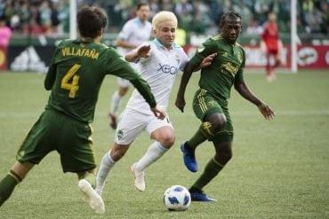 Seattle Sounders vs Portland Timbers