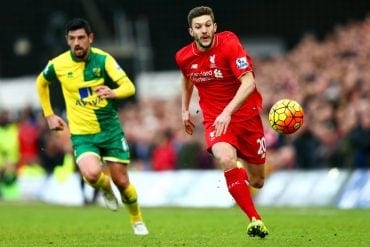 Liverpool x Norwich