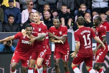 Rangers x Midtjylland