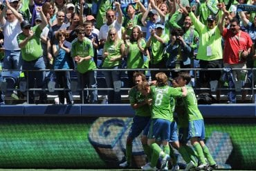 Seattle Sounders x New England