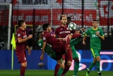 Slavia Praga vs CFR Cluj