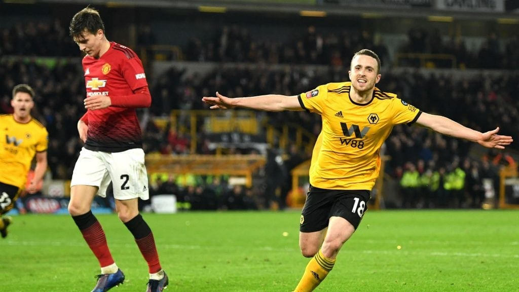Wolves x Manchester United