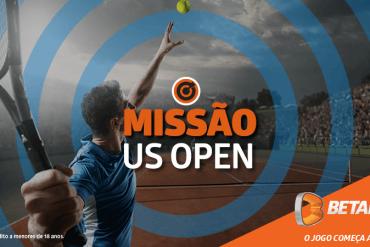 Missão da Betano no US Open