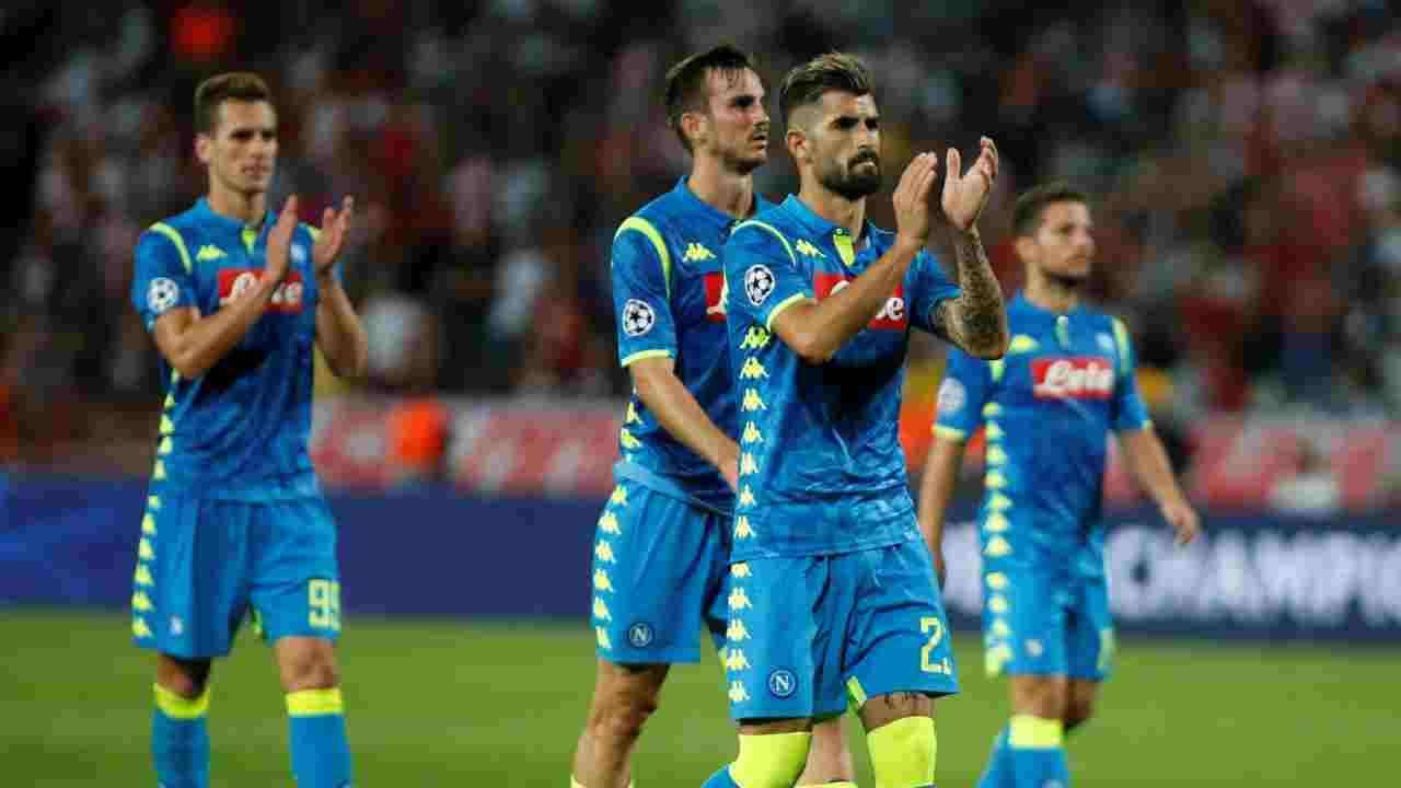 Napoli x Sampdoria