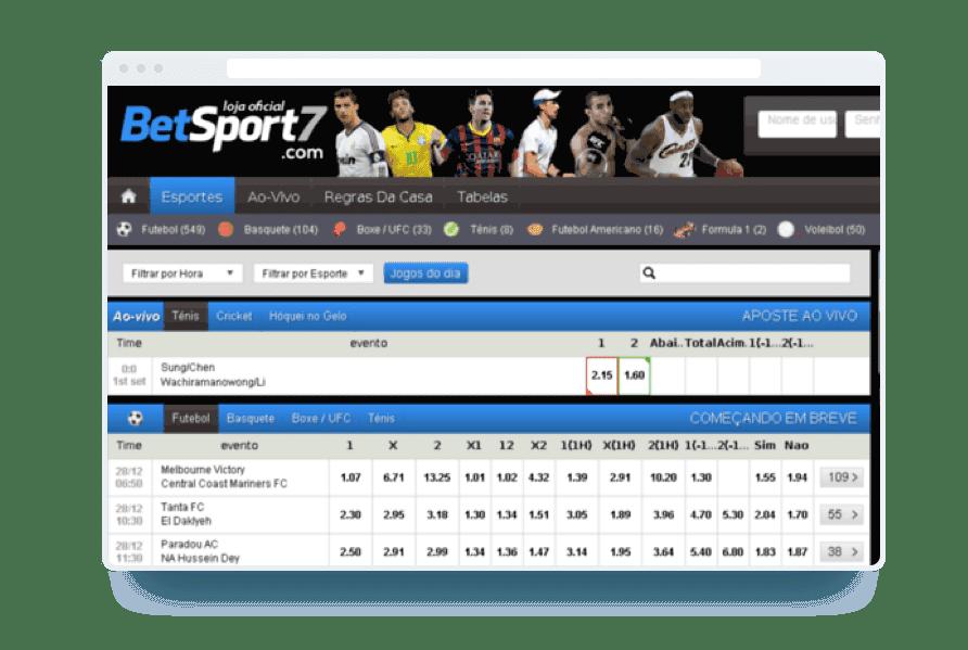 betsport7 apostas fraude