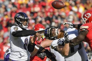 Prognóstico Kansas City Chiefs vs Baltimore Ravens