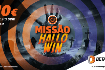 Missão HalloWin da Betano