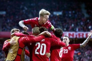 Irlanda x Dinamarca