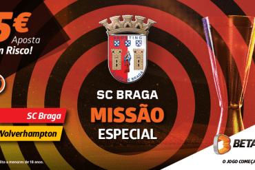 SC Braga-Wolverhampton aposta sem risco