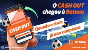Cash out Betano