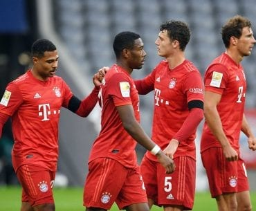 Palpite Bayern de Munique x Dusseldorf